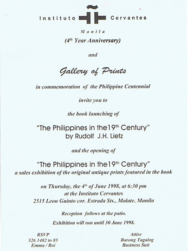 The Philippines in the 19th Century – - The Philippines in the 19th Century –