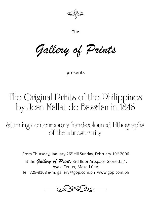 The Original Prints of the Philippines - The Original Prints of the Philippines
