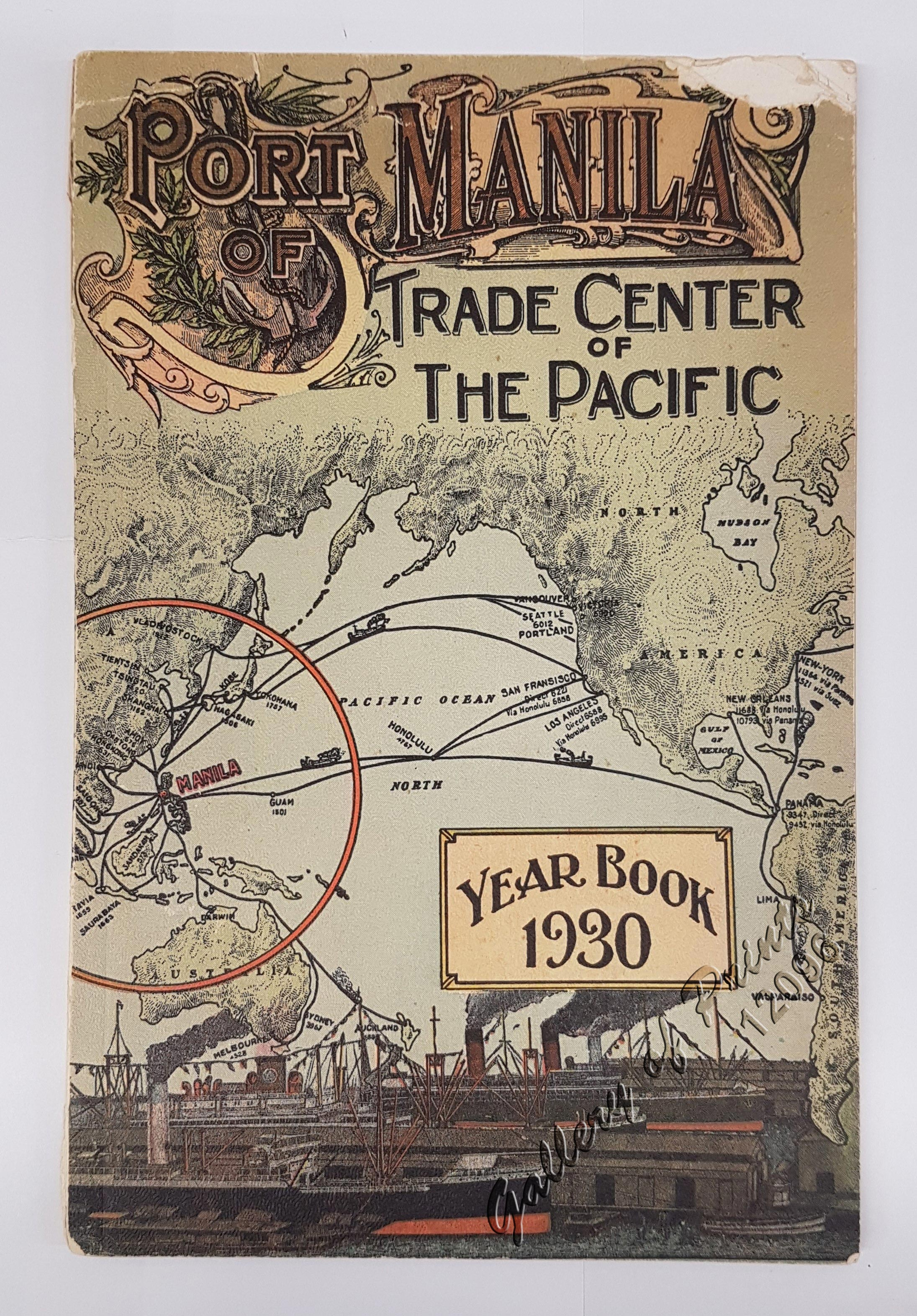 Port of manila trade center of the pacific year book 1930 gallery port gumiabroncs Choice Image